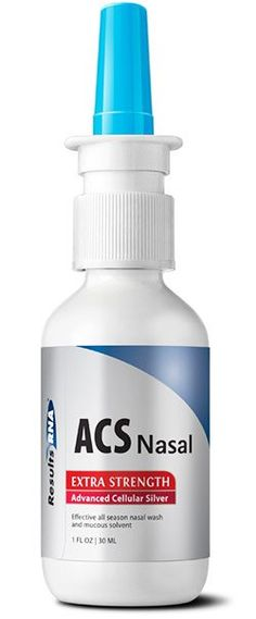 A new weapon against Flu, Cold and Sinus Infections. ACS 200 Extra Strength Nasal provides safe and rapid sinus and congestion relief. #silver #colloidalsilver #effective #pathogens #bacteria #virus #fungus #health #healthy #body #resultsrn