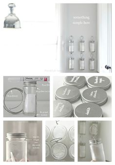 Wire and Hanging Spice Storage   50 Clever DIY Ways To Organize Your Entire Life
