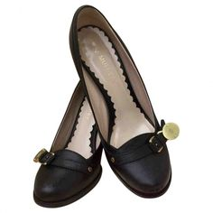 027806e57 Flat Bow Suede Slipper   Shoes   Shoes, Gucci flats, Bow flats