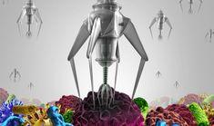 Nanites; Nanorobotics; Firefighting Drones/ future of nanobots Robotics Engineering, Molecular Biology, Medical Field, Nanotechnology, Biochemistry, The Cell, Firefighter, Dna, Random Thoughts
