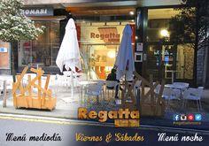 Si ya conoces el menú de mediodía de #regatta #Donostia #SanSebastian anímate a probar nuestro menú especial de cenas de los Viernes y Sábados noche. O nuestras copas y gin-tonics en nuestro bar o en nuestra terraza junto al Buen Pastor. Recuerda #regattaDonostia c/Hondarribia 20