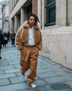 "14.1k Likes, 146 Comments - New York Times Fashion & Style (@nytimesfashion) on Instagram: ""Luka Sabbat on his way to Acne Studios Fall 18 #PFW.  by Acielle @styledumonde"""