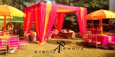 Color and seating inspiration Marriage Decoration, Wedding Venue Decorations, Stage Decorations, Wedding Themes, Wedding Vendors, Wedding Ideas, Weddings, Wedding Styles, Arabian Nights Theme