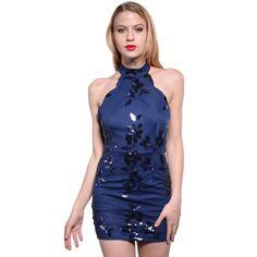 Elegant Summer Sequin Off the Shoulder Bodycon Dress