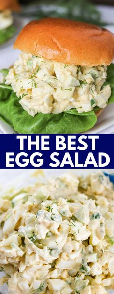 Egg Salad Recipe With Relish, Classic Egg Salad Recipe, Best Egg Salad Recipe, Easy Salad Recipes, Easy Salads, Egg Recipes, Lunch Recipes, Easy Meals, Healthy Recipes
