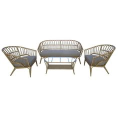 Vestbjerg Lenco Loungeset Garden Furniture, Rooftop, Wicker, Chair, Patio, Lounge, Home Decor, Mood, Products
