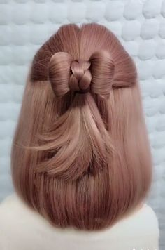 Braid Front Of Hair, Hairdo For Long Hair, Long Hair Tips, Long Hair Video, Wedding Hairstyles For Long Hair, Braided Hairstyles, Updo Hairstyle, Stylish Hairstyles, Bun Hairstyles For Long Hair
