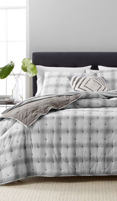 Refresh Your Bed For Fall Not Once But Twice With Reversible Quilts From The Martha Collection At Macy S