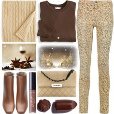 How To Wear Winter Spice Outfit Idea 2017 - Fashion Trends Ready To Wear For Plus Size, Curvy Women Over 20, 30, 40, 50