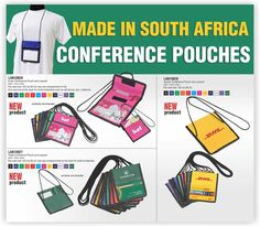 Conference Pouches supplied by Best Branding. Best Branding are specialists in Lanyards and Lanyard pouches. Best Branding has a wide range of lanyards an lanyard fittings. LAN10028Event conference pouch and lanyard with 1 colour screen print on pouch in one position (card insert not included) LAN10027Trade conference pouch and lanyard with 1 colour screen print on pouch in one position (card insert not included) LAN10026Vendor conference pouch and lanyard with 1 colour screen print on… Branded Lanyards, Pouches, New Product, Conference, Screen Printing, Surfing, Branding, Positivity, Range