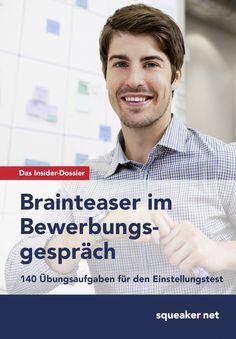 Michael Hoi, Stefan Menden: Das Insider-Dossier: Brainteaser im Bewerbungsgespräch. 140 Übungsaufgaben für den Einstellungstest.