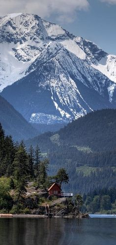 """Majestic Anderson Lake landscape"" ~ British Columbia, Canada • photo: Pierre Leclerc"