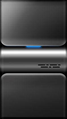 Grey Chrome Lockscreen