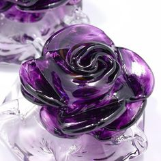 little purple rose