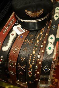 Warpath Leather Goods belts made by my band mate, Matt Strickland Country Belt Buckles, Country Belts, Western Belts, Leather Belts, Leather Jewelry, Versace Belt, Gg Belt, Belt Shop, Casual Belt