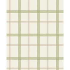 SuperFresco Plaid Wallpaper - Green at Homebase -- Be inspired and make your house a home. Buy now.