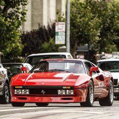 "amazingcars: ""ferrari car cars hypercar oldtimer red rosso carweek sfo sanfrancisco by Murphy Photography http: flic. Ferrari F40, Vintage Cars, Antique Cars, Automobile, F12 Berlinetta, Top Cars, Car Car, Fast Cars, Sport Cars"