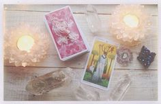 #crystal #candles #tarotcards