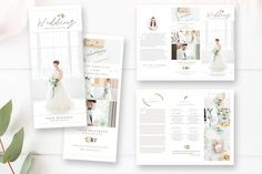 Buy the Bundle and Save!  Photographer Branding Package  Give your photography studio a professional, cohesive look with this  customizable marketing set. Featuring 12 pieces and a 32-page Magazine  Guide template, it includes everything you need to effectively enhance your  photography stud