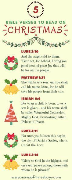 Christmas verses to read