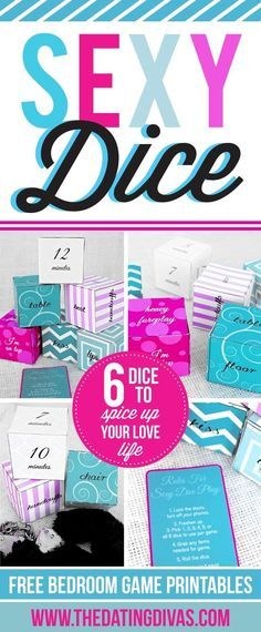 DIY Sexy Dice Game for Adults - From The Dating Divas Source by divas Love Games For Couples, Valentines Games For Couples, Games For Teens, Couple Games, Adult Games, Valentine Games, Couple Fun, Couple Crafts, Couple Activities