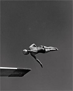 'Class' by John Gutmann. Olympic high diving champion, Marjorie Gestring, 1936