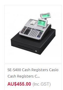 Cash Register at QuickPOS