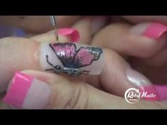ENGLISH: RobyNails® - Spring Butterfly Decor with Form and One-phase Gel