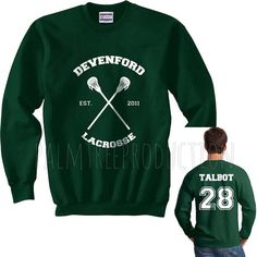 Talbot 28 Devenford Prep Lacrosse Teen Wolf by PalmTreeProduction