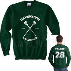 Talbot 28 Devenford Prep Lacrosse Teen Wolf by PalmTreeProduction
