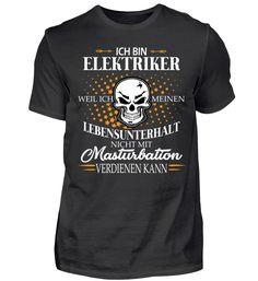 Ich bin Elektriker T-Shirt