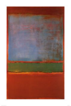 Violet, Green and Red, 1951 Poster di Mark Rothko su AllPosters.it