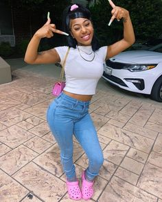 Boujee Outfits, Swag Outfits For Girls, Cute Swag Outfits, Teenage Girl Outfits, Teen Fashion Outfits, Dope Outfits, Girly Outfits, Summer Outfits, School Outfits