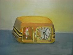 my vintage clock!