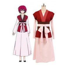 Akatsuki no Yona Princess Dress Cosplay Costume