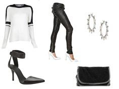 Black/white/silver by Tess Montgomery | Looks | Apprl - Social Shopping