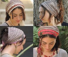 Headband Tichel PATTERN How To Sew Your Ruffle Bandana Pattern   Etsy Scarf Styles, Hair Styles, Sewing Hacks, Sewing Tips, Sewing Tutorials, Love Sewing, Sewing Projects For Beginners, Sewing Patterns Free, Etsy
