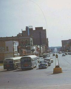 Street Scene, Austin, Texas, 1953
