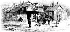 John Alloo's Chinese Restaurant, Main Road, Ballarat 1855
