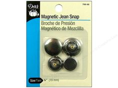 magnetic jean snap