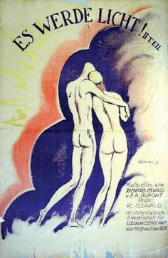 Ludwig Kainer (1885-1967, German), 1918, Es Werde Licht! 2. Teil, H: 141.99 cm., W: 95.00 cm.