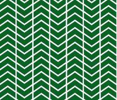 chevron stripe in Kelly Green fabric by ninaribena on Spoonflower - custom fabric