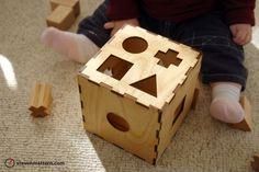 Shape Toy - Birch Plywood & Maple