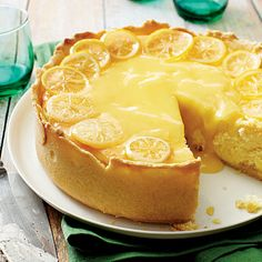 Lemon Bar Cheesecake - Sweet on Citrus Desserts - Southern Living
