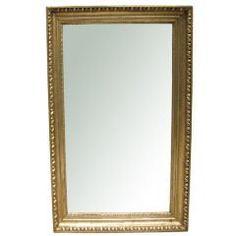 Exemplary Biedermeier Gilt Wood Mirror