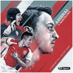 Arsenal star Mesut Ozil joins Aguero in Champions League artwork Mesut Ozil, Alexis Sanchez and Petr Cech are gearing up for Arsenals clash with Barcelona … Arsenal Players, Arsenal Football, Football Match, Arsenal Fc, Football Design, Sport Football, Champions League, Uefa Champions, Soccer Pro