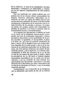 SEIS ESTUDIOS DE PSICOLOGÍA Jean Piaget - Inicio