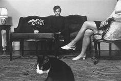 Lee Friedlander, Bob Blechman, New York City, 1968.