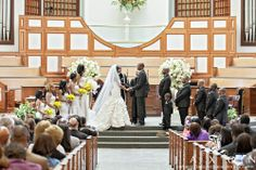 Wedding Ceremony Pictures, The Historic Ebenezer Baptist Church in Atlanta