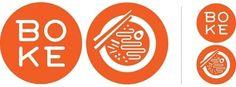 Creative Logo, Restaurant, Boke, Bowl, and Design image ideas & inspiration on Designspiration Food Logo Design, Web Design, Logo Food, Branding Design, Food Branding, Graphic Design, Typography Design, Logo Restaurant, Resturant Logo